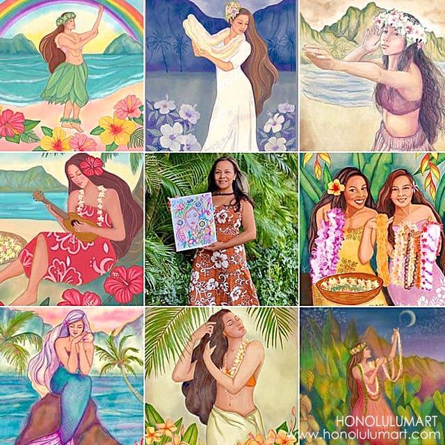 Little Waialu(リトル・ワイアルア)ハワイアンアート