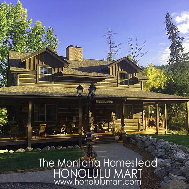 モンタナのメイソンジャー瓶入りアロマキャンドルが作られている家の写真