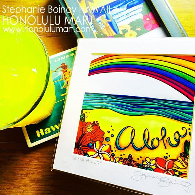 アロハ・ハワイの小さな絵4