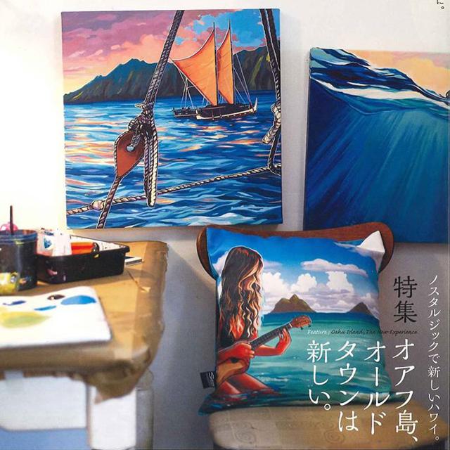 雑誌パートナーの表紙写真(ハワイのクリスティ・シン)