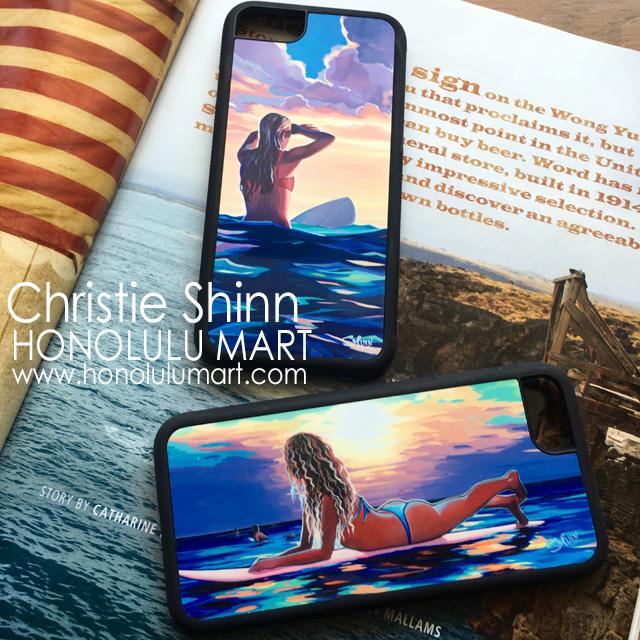クリスティ・シンのiPhoneケースの写真