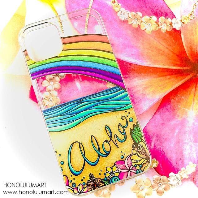 アロハ・ハワイiPhoneケース