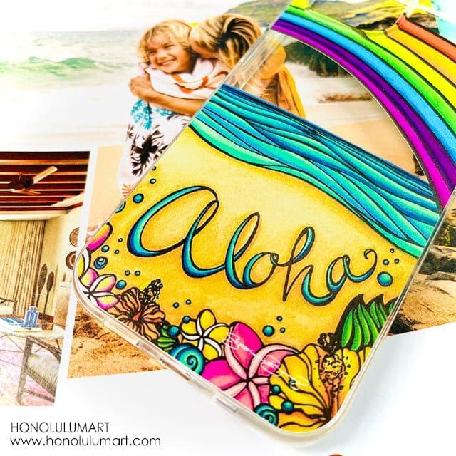 アロハ・ハワイiPhoneケース5