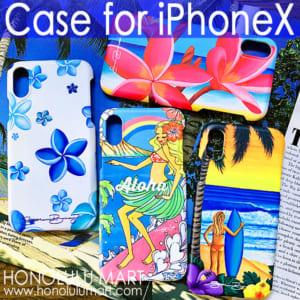 ハワイアンiPhoneXケースの写真