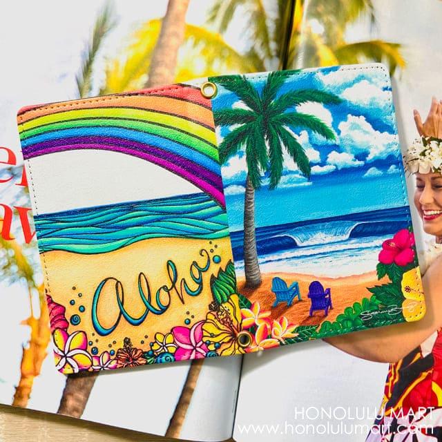 アロハ・ハワイ・パスポートケース1