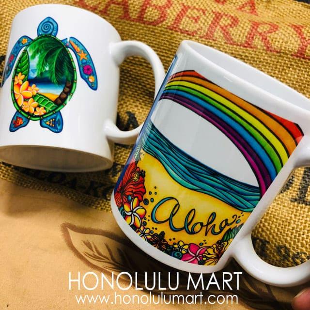 ハワイアン・マグカップ