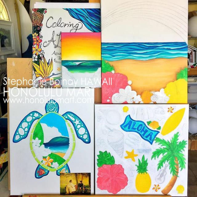 ハワイの塗り絵の写真(ステファニー・ボイナイ)32