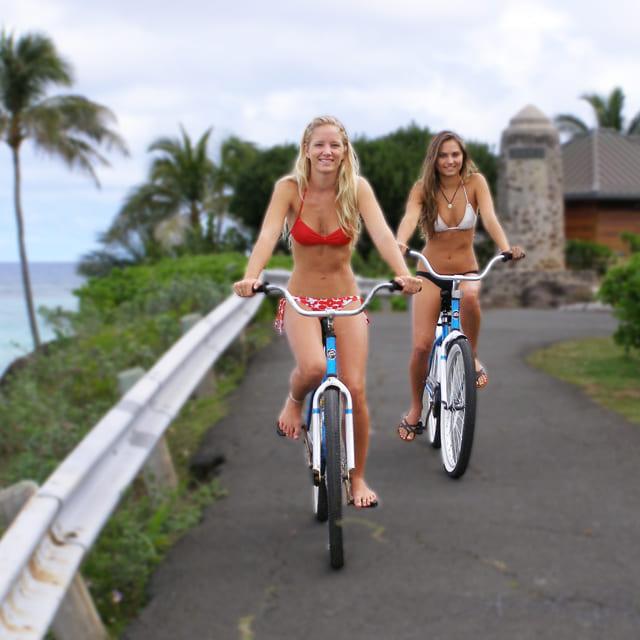 カイルアの自転車レンタルの写真