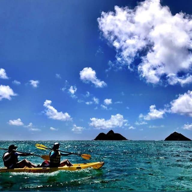 カイルアビーチ・アドベンチャーズのカヤックツアーの写真