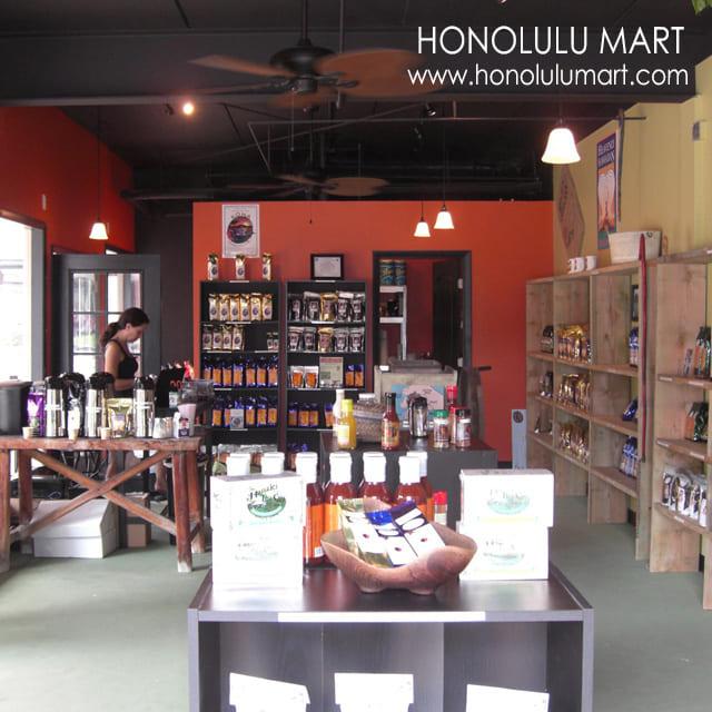 ハワイ島のコーヒーショップの写真1