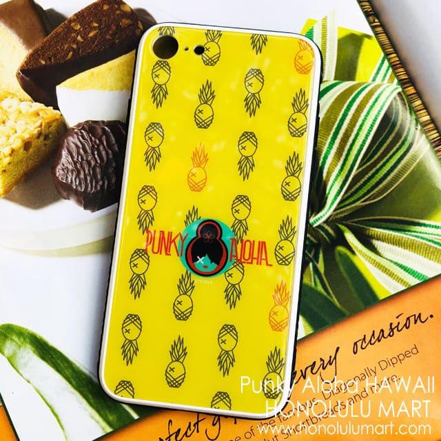 パイナップル模様のiPhoneケース(Punky Aloha)