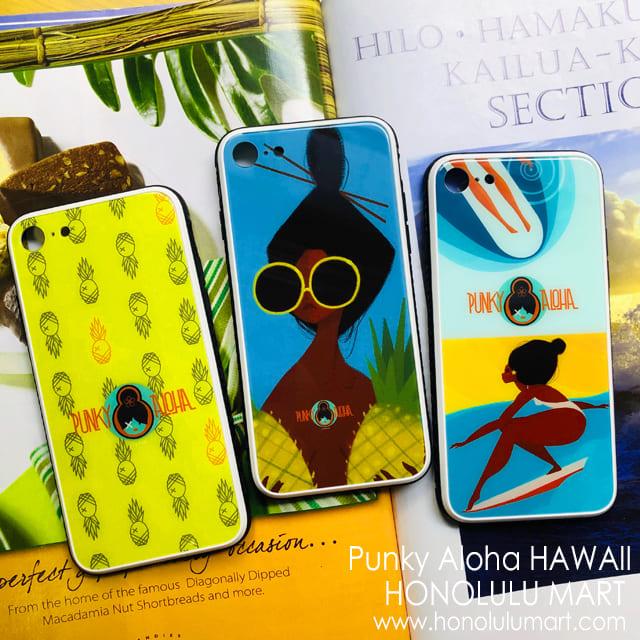 Punky AlohaのハワイアンiPhoneケース