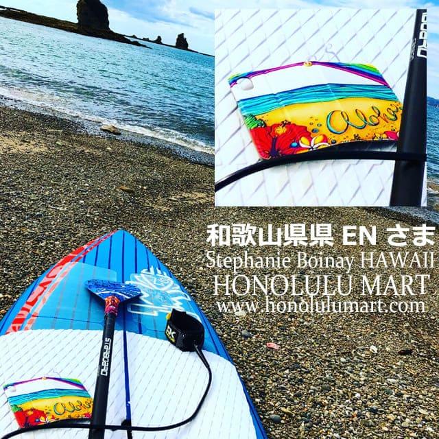 アロハ・ハワイ手帳型iPhoneケース(和歌山県のお客さまの写真)14