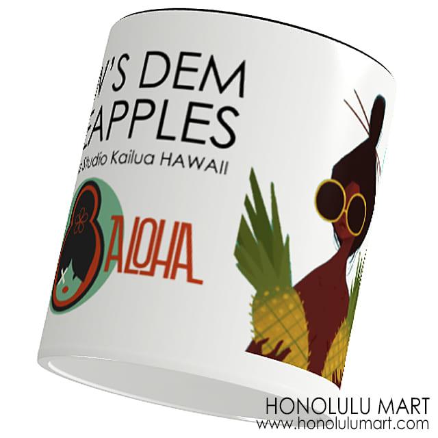 パイナップルガール・マグカップ(ハワイのPunky Aloha)
