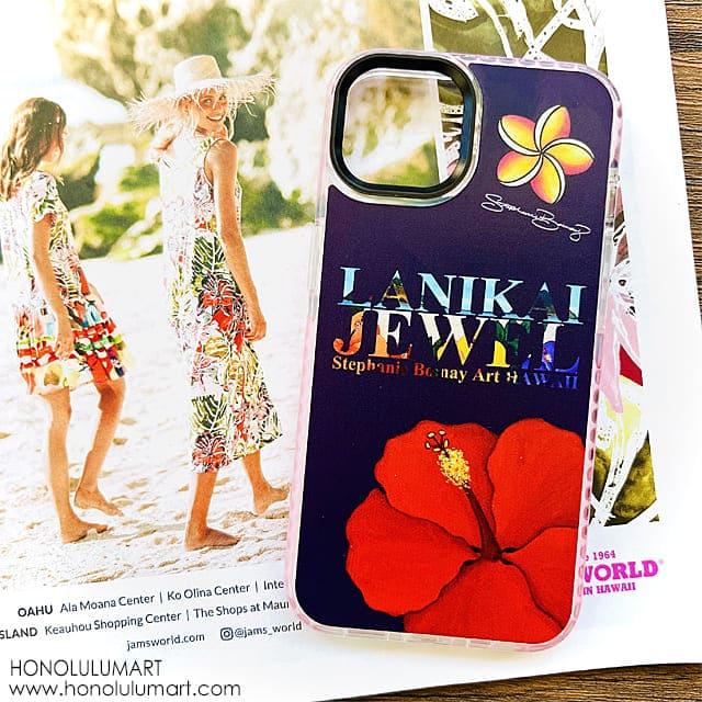 ラニカイビーチiPhoneケース(ハワイのステファニー・ボイナイ)