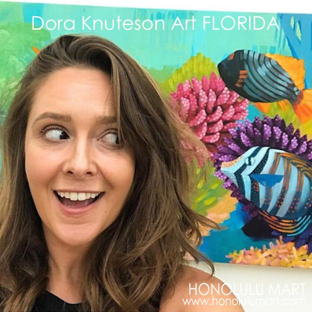 フロリダの女性アーティスト・ドーラ・クヌーテサン