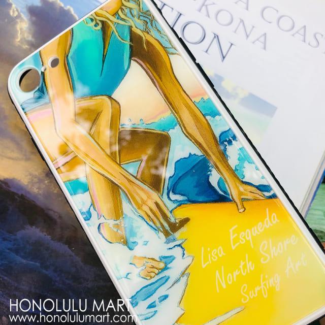 サーフィンのハワイアンiPhoneケース(リサ・エスカーダー)1