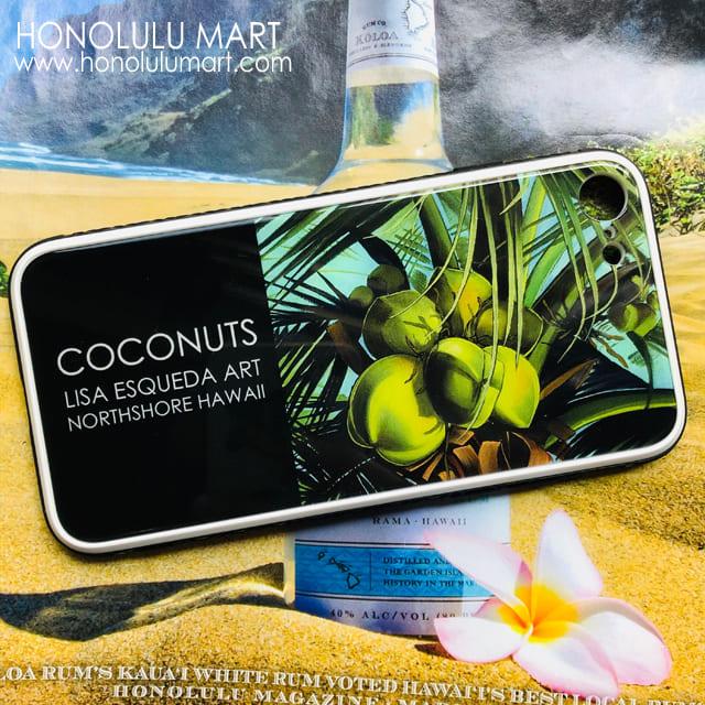 ココナッツ・ハワイアンiPhoneケース