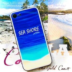 海の癒しの絵柄のハワイアンiPhoneケース3