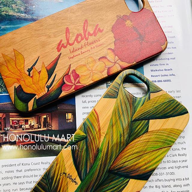 チェリーウッドとバンブーの木製ウッドiPhoneケースの写真3