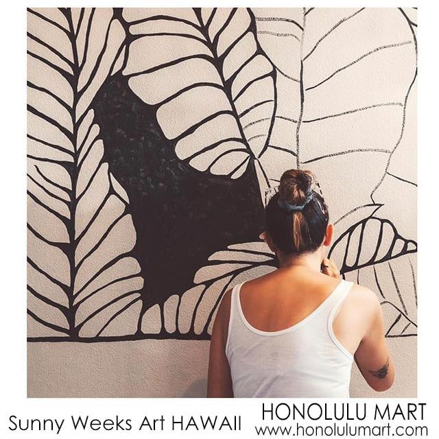 ハワイのSUNNY WEEKS ART