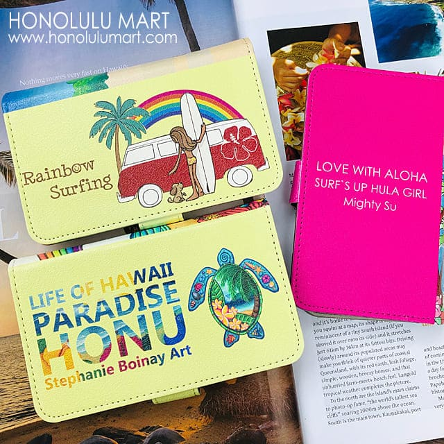 Android/iPhoneハワイアン手帳型スマホケース2