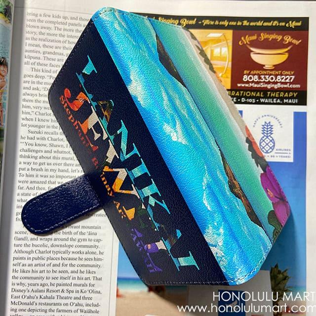 ラニカイビーチ手帳型スマホケース4