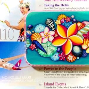 ハワイのお花とシェルのiPhoneケース(ステファニー・ボイナイ)4