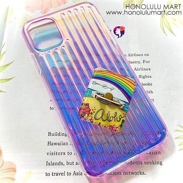 iPhoneケースとアロハ・ハワイ・スマホリングの写真2