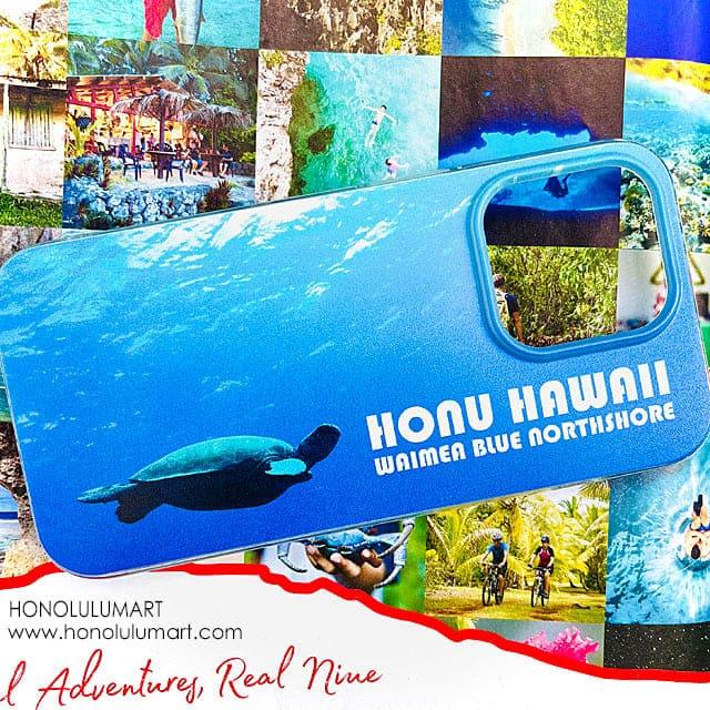 ホヌ・ハワイの写真iPhoneケース