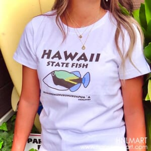 フムフムフィッシュ・ハワイアンTシャツ1