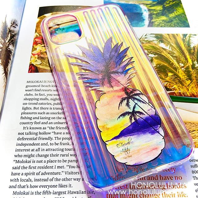 パイナップル・サンセット・オーロラiPhoneケース6