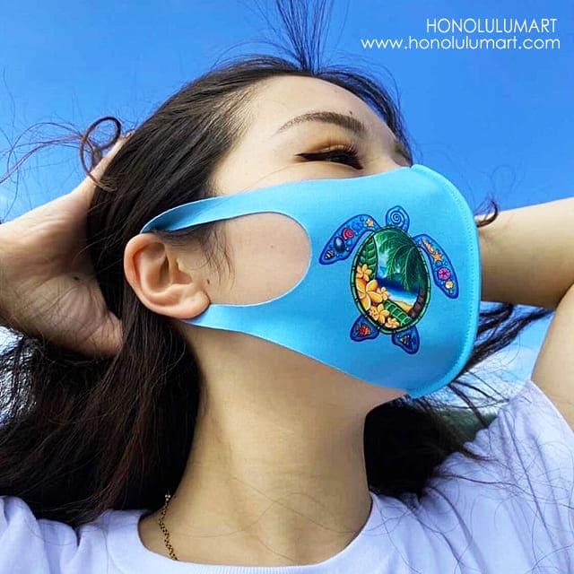 ホヌのハワイアンマスク1