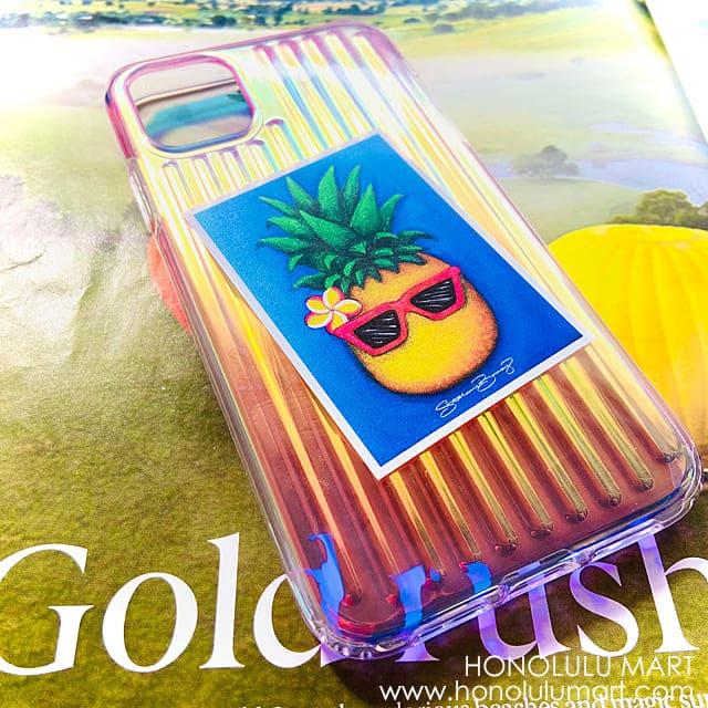 パイナップルガール・オーロラハワイアンiPhoneケース3