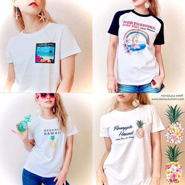 半袖ハワイアンTシャツ2021年春夏の新作
