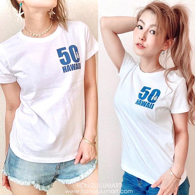 50ハワイTシャツデザイン1