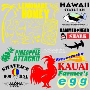 ゆるハワ雑貨(ゆるいハワイのデザイン)