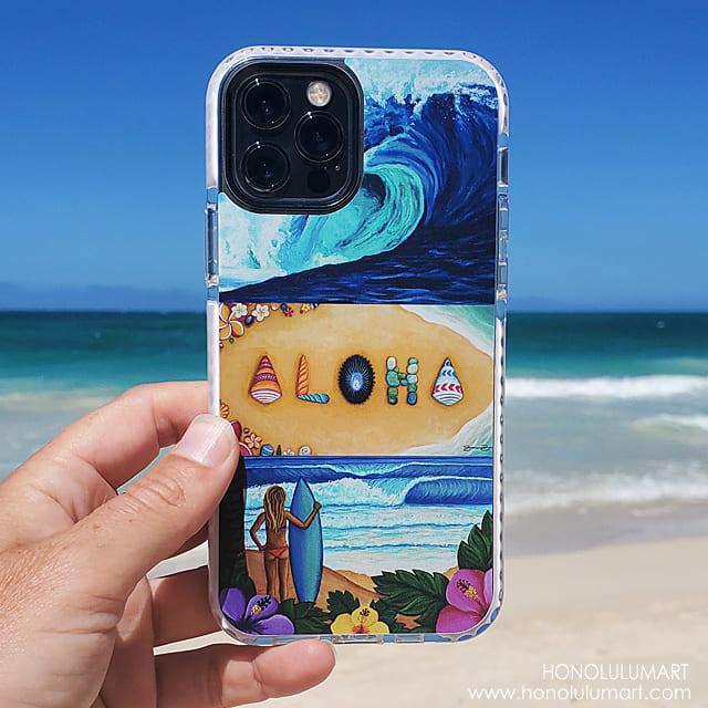サーフアロハiPhoneケース15
