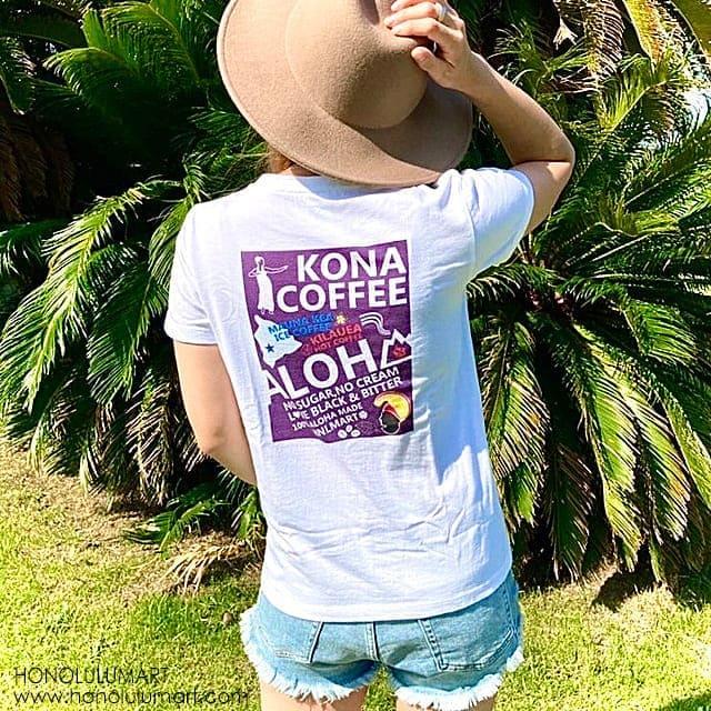 ビッグアイランド・コナコーヒーTシャツ