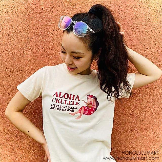 アロハ・ウクレレTシャツ3